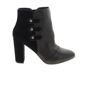 New WHITE HOUSE BLACK MARKET Kaydyn Ankle Boots   Black